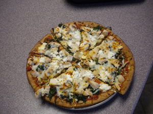 Healthy Chicken Pizza Recipe