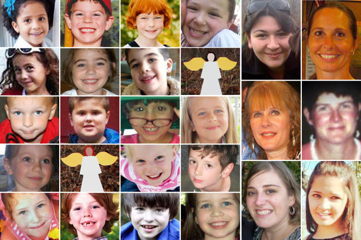 Honoring the victims of the Sandy Hook Elementary shooting