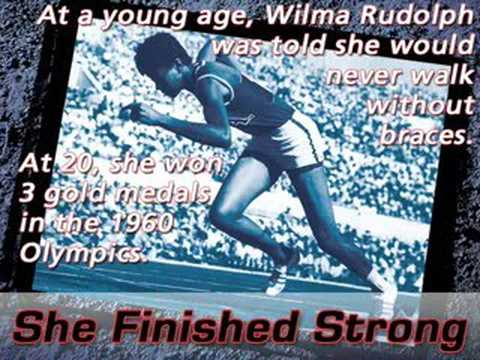 It's never too late to finish strong. My challenge to you.