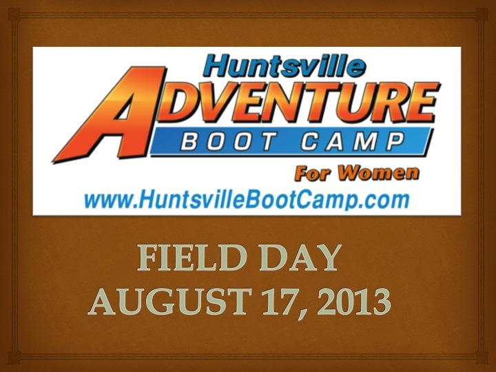 HuntsvilleAdventureBootCampFieldDay
