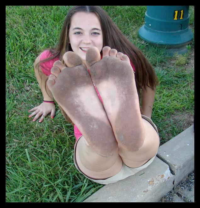 Dirty teen girl should be