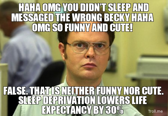Can T Sleep Funny Meme : How sleep deprivation can cause you to gain pounds in days