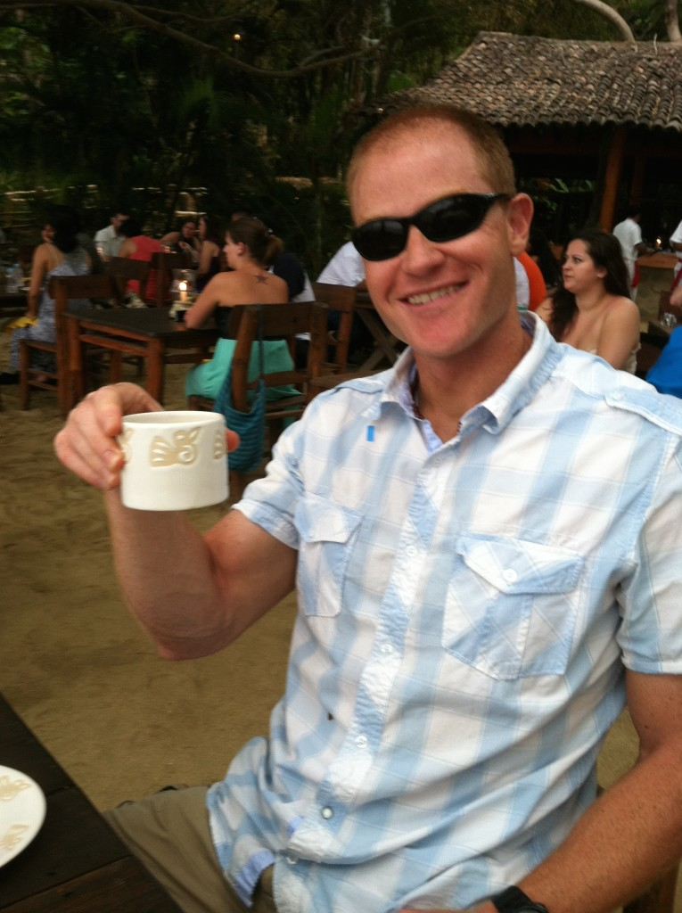 Coffee in paradise