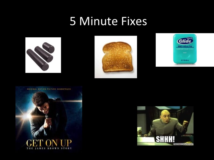 5-Minute-Fixes