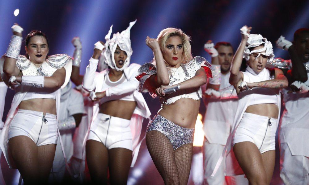 Lady Gaga's belly