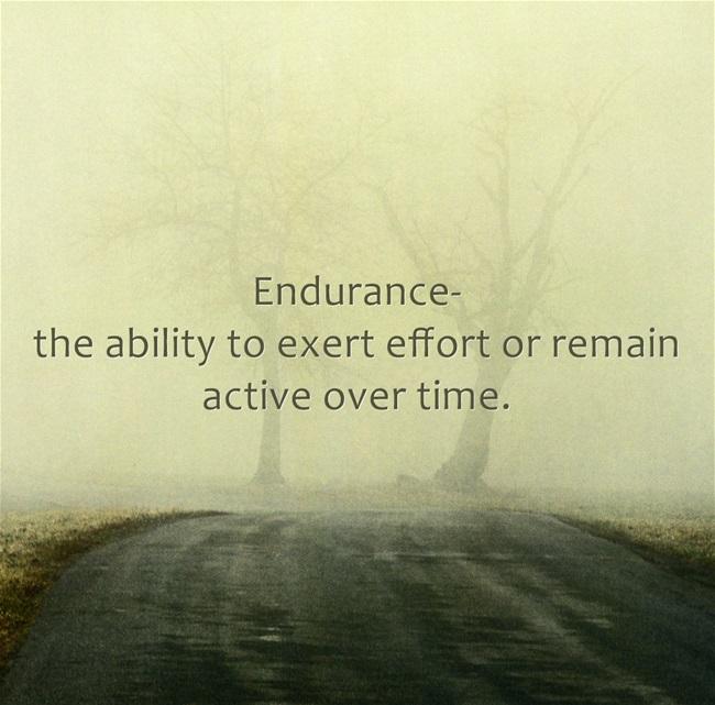 Endurance Training Class is back!